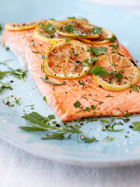 Lemon Roasted Salmon