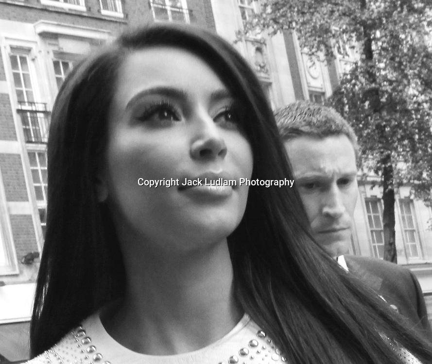 kim kardashian, Black and White  London
