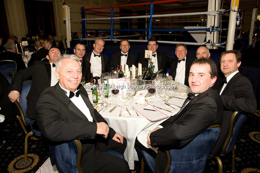 Burns night various photos at London's Millennium Hotel, Mayfair, 28th January 2010 - Mayfair Sporting Club (Mickey Helliet) Credit: © Leigh Dawney Photography