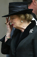 File Photos - Death of Baroness Thatcher