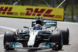 November 10, 2017 - Sao Paulo, Sao Paulo, Brazil - Nov, 2017 - Sao Paulo, Sao Paulo, Brazil - VALTTERI BOTTAS/Mercedes AMG. Free practice this Friday (10), for the Brazilian Grand Prix of Formula One that takes place next Sunday at the Autodromo de Interlagos in São Paulo. (Credit Image: © Marcelo Chello via ZUMA Wire)
