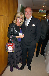 SIR DAVID LLEWELLYN and INGRID SEWARD at a party to celebrate the publication of Diana by Sarah Bradford held at 80 The Strand, London on 27th September 2006.<br />