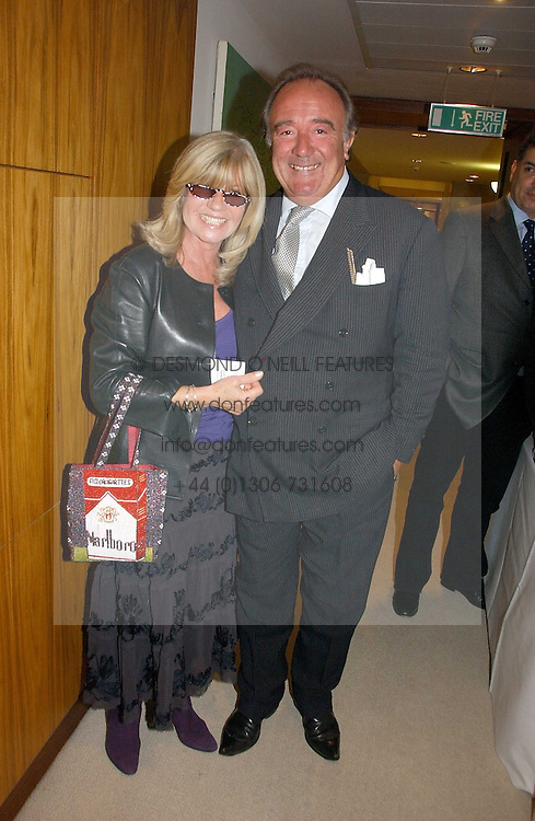 SIR DAVID LLEWELLYN and INGRID SEWARD at a party to celebrate the publication of Diana by Sarah Bradford held at 80 The Strand, London on 27th September 2006.<br /><br />NON EXCLUSIVE - WORLD RIGHTS