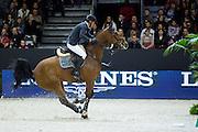 Steve Guerdat - Nino des Buissonnets<br /> FEI World Cup Final 2014<br /> &copy; DigiShots