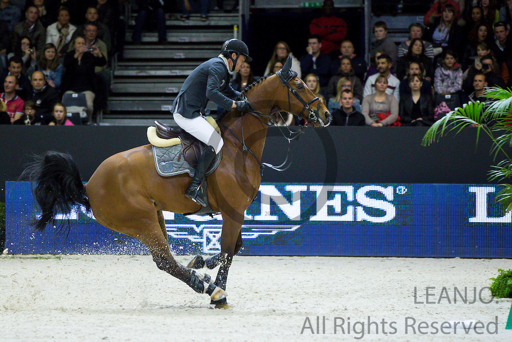 Steve Guerdat - Nino des Buissonnets<br /> FEI World Cup Final 2014<br /> &copy; DigiShots