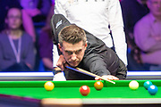 Mark Selby during the final frame at the World Snooker 19.com Scottish Open Final Mark Selby vs Jack Lisowski at the Emirates Arena, Glasgow, Scotland on 15 December 2019.