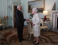 Audience at Buckingham Palace 18 April 2018