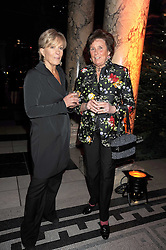 Left to right, CANDIDA LYCETTE-GREEN and LADY AMABEL LINDSAY at a reception to celebrate the opening of 'Magnificence Of The Tsars' the new exhibition at the V&A held on 9th December 2008.