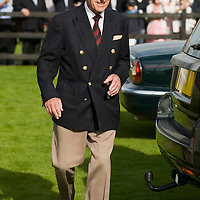 LONDON, ENGLAND - JUNE 14:  HRH The Duke of Edinburgh leaves the Guards Polo Club after having attended the Queen's Cup at Guards Polo Club  on June 14, 2009 in London, England.  (Photo by Marco Secchi/Getty Images)