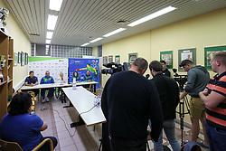 Press conference at 14th Slovenia Open - Thermana Lasko 2017 Table Tennis Championships for the Disabled Factor 2, on May 9, 2017, in Dvorana Tri Lilije, Lasko, Slovenia. Photo by Matic Klansek Velej / Sportida