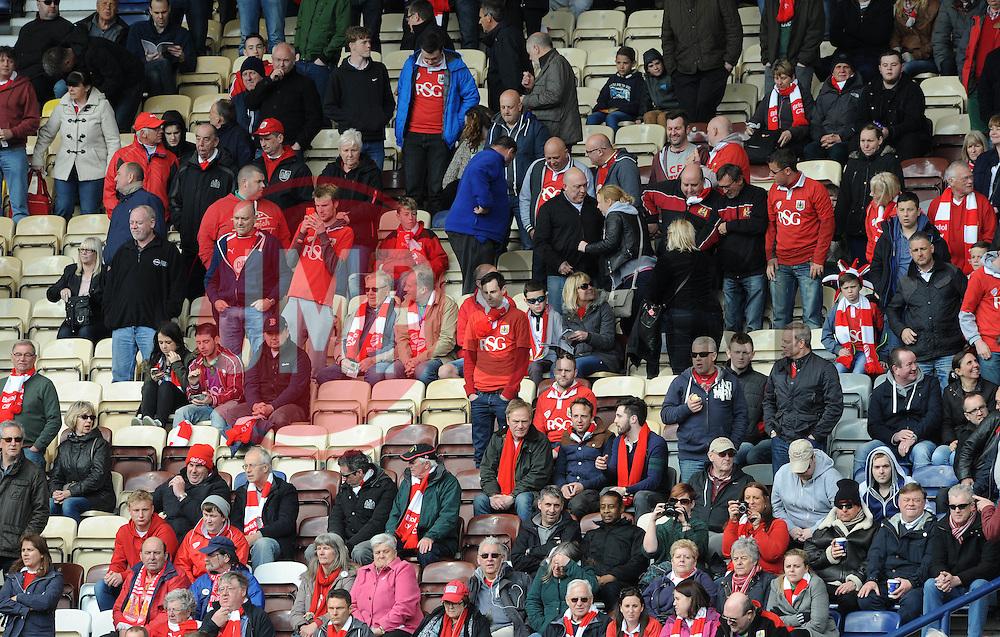 Bristol City fans - Photo mandatory by-line: Dougie Allward/JMP - Mobile: 07966 386802 - 11/04/2015 - SPORT - Football - Preston - Deepdale - Preston North End v Bristol City - Sky Bet League One