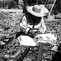 Where: Lake Titicaca, Peru<br />