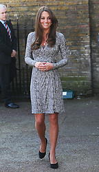 The Duchess of Cambridge arriving at Hope House in London, Tuesday, 19th February 2013  Photo by: Stephen Lock / i-Images