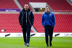 Bristol Rovers caretaker manager Graham Coughlan and Sam Matthews of Bristol Rovers arrive at The Stadium of Light - Mandatory by-line: Robbie Stephenson/JMP - 15/12/2018 - FOOTBALL - Stadium of Light - Sunderland, England - Sunderland v Bristol Rovers - Sky Bet League One