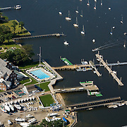 Manhasset Bay aerial photograph.