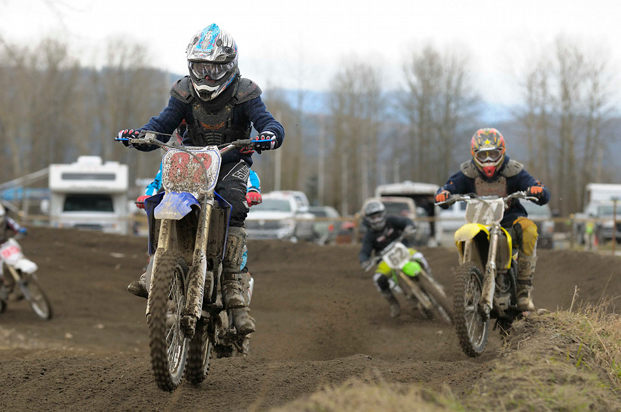 Lower Mainland Motocross Club..Season Opener..March 8, 2009..Mission, British Columbia
