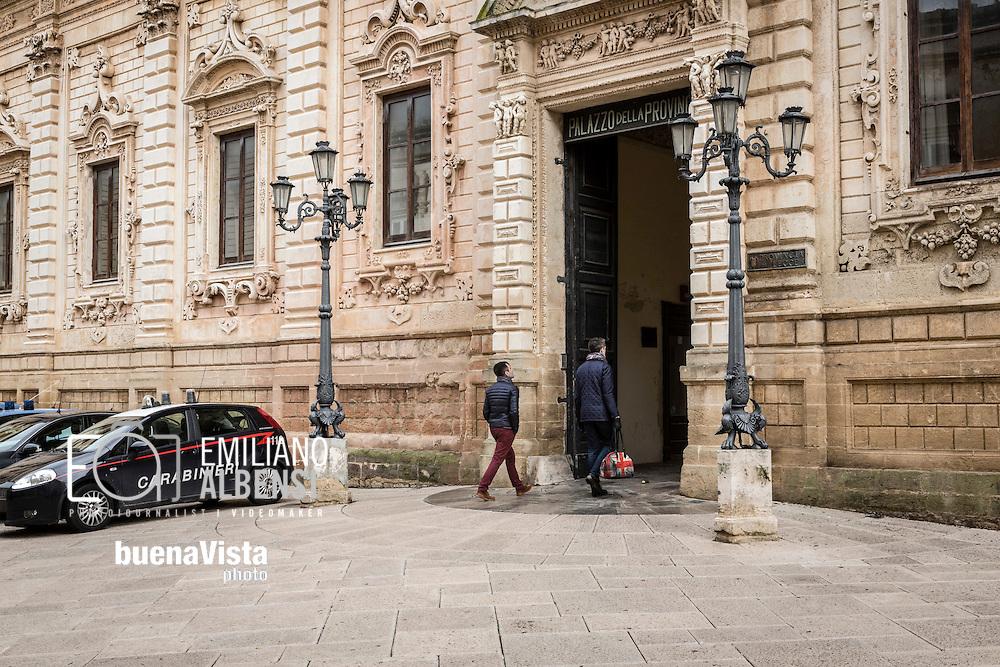 Emiliano Albensi<br /> 20/01/2017 Lecce (LE)<br /> Lecce<br /> Nella foto: il palazzo della Provincia di Lecce<br /> <br /> Emiliano Albensi<br /> 20/01/2017 Lecce<br /> Lecce<br /> In the picture: the headquarter of the Province of Lecce