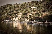 The village of Sipanska Luka, Sipan Island, Dalmatian Coast, Croatia