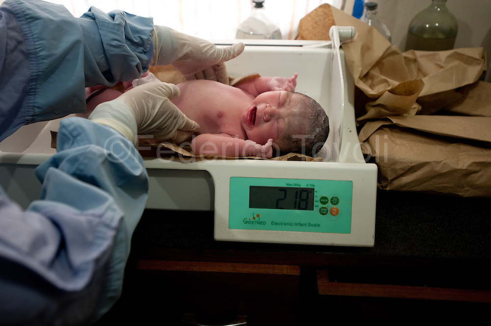 Birth at Santa Clotilde Centro de Salud