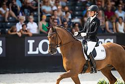 Michel Botton Jessica, FRA, Dorian Grey de Hus<br /> World ChampionshipsYoung Dressage Horses<br /> Ermelo 2018<br /> © Hippo Foto - Dirk Caremans<br /> 04/08/2018