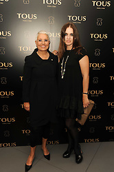 Left to right, Rosa Oriol and her daughter ROSA TOUS at a party to announce Kylie Minogue as The Face of Tous held at their store 260 Regent Street, London on 8th June 2010.