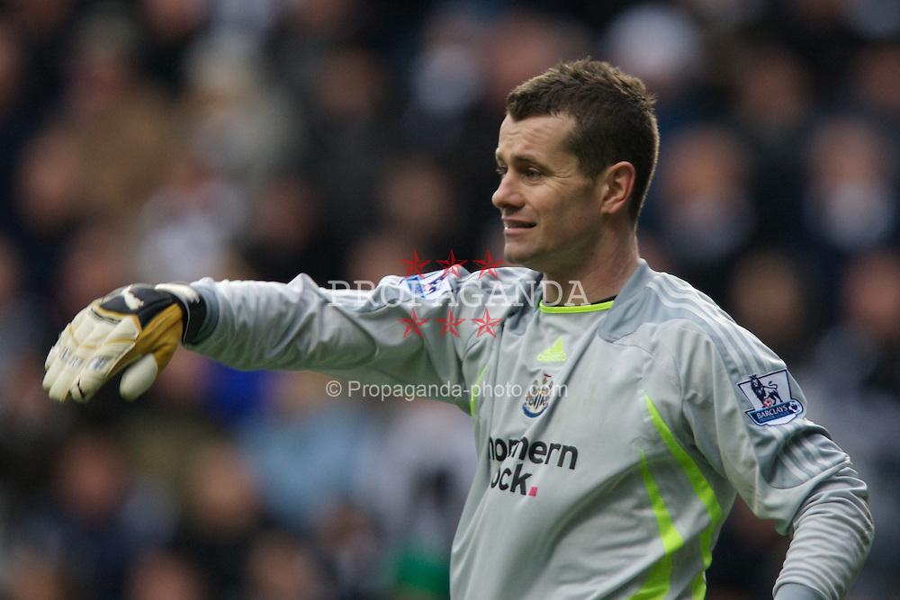 NEWCASTLE, ENGLAND - Sunday, February 3, 2008: Newcastle United's goalkeeper Shay Given during the Premiership match against Middlesbrough at St James' Park. (Photo by David Rawcliffe/Propaganda)