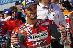 September 22, 2018 - Alcaniz, Teruel, Spain - during qualifying for the Gran Premio Movistar de Aragon of world championship of MotoGP at Motorland Aragon Circuit on September 22, 2018 in Alcaniz, Spain. (Credit Image: © Jose Breton/NurPhoto/ZUMA Press)