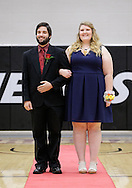 November 5, 2016: The Oklahoma Christian University homecoming court is presented and the king and queen are crowned in the Eagles Nest on the campus of Oklahoma Christian University.