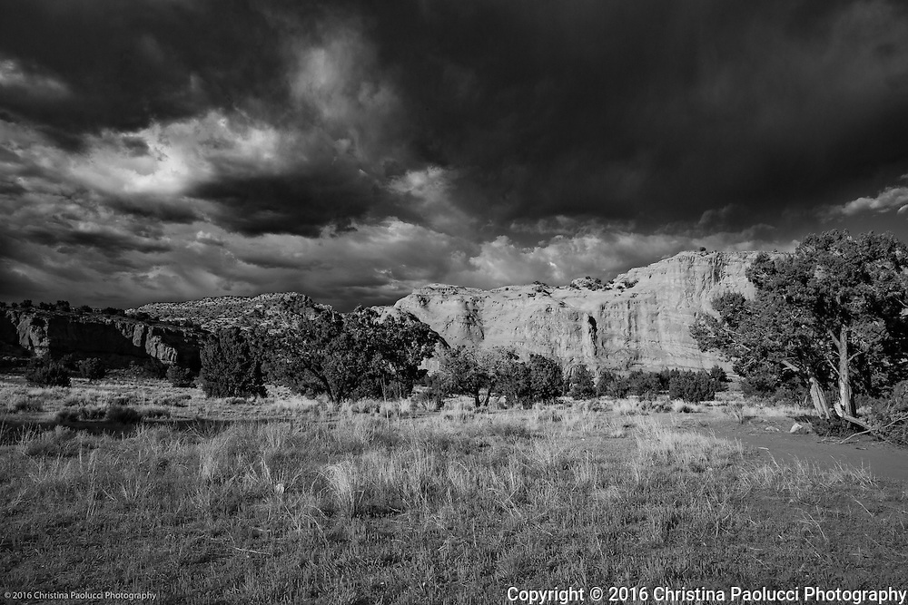 Jemez Springs route in New Mexico.  (Christina Paolucci, photographer).