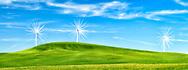 Wind Turbines with a fun twist