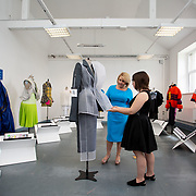 "03.06.2018.        <br /> An In-FLUX of visitors attended LSAD, Limerick School of Art and Design for one of Ireland's largest and most vibrant Graduate Shows.<br /> <br /> Pictured at the event were, Chief Executive of the Design & Crafts Council of Ireland, Karen Hennessy who officially opened the Flux Exhibition with Fashion graduate, Louise Marchand and her collection Dissociate.<br /> <br /> More than 200 Fine Art and Design students' work went on display from June 2 to June 10, 2018 at the LSAD Graduate Show - FLUX.<br /> LSAD has been central to Art, Craft and Design in the Limerick and Midwest region since 1852.<br />  <br /> The concept, branding and overall design of the 2018 LSAD Graduate Show - FLUX – is student led, and begins this Saturday June 2 and runs until June 10, 2018.<br />  <br /> FLUX encapsulates the movement and change from student to graduate. ""The ""X"" in ""FLUX"" represents the students and how they have made their mark in their time at college,"" explains designers Cathy Hogan and Will Harte as they outline the thinking behind the concept.<br />  <br /> FLUX describes the dynamic movement in the Limerick city region as it overcomes significant issues to become a fulcrum of rejuvenation, vibrant culture, strong industry growth and a centre of design.<br />  <br /> LSAD is also in a state of FLUX as it develops its enterprise potential and engagement with stakeholders across industry, public bodies, third level institutions and other partners overseeing a shift towards design, creativity and connectivity that goes far beyond the walls of its main campus on Clare Street. Picture: Alan Place"