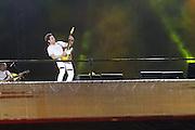 SAO PAULO, SP, 31.12.2013 - REVEILLON NA PAULISTA - Fernando e Sorocaba durante 17ª edição do Réveillon na Paulista região central de São Paulo nesta quarta-feira (31). (Foto: Marcelo Brammer / Brazil Photo Press).