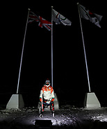 Paralympic Heritage Flame Lighting Ceremony - Stoke Mandeville Stadium - 02 March 2018