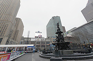 Downtown Cincinnati on a Cold January Day