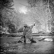 Curtis Creek - North Carolina - Bronica SQ-A - Ilford Film