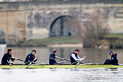 Stern 4 of the Oxford University Blue Boat 2010. 5 Sjoerd Hamburger (Oriel - Ned) 6 Matt Evans (University - Can/GB) 7 Simon Gawlik (Kellogg - Ger) Stroke Charlie Burkitt (Wolfson - GB) Cox Adam Barhamand (Wolfson - USA)