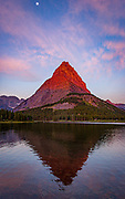 Swiftcurrent Lake, Grinnell Point