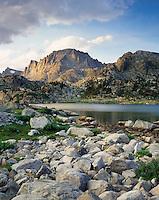 Fremont Peak from Island Lake, Bridger Wilderness, Wind River Range Wyoming