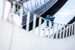 Domen Prevc (SLO) during the 1st Round of the Ski Flying Hill Individual Competition at Day 2 of FIS Ski Jumping World Cup Final 2019, on March 22, 2019 in Planica, Slovenia.  Photo by Matic Ritonja / Sportida