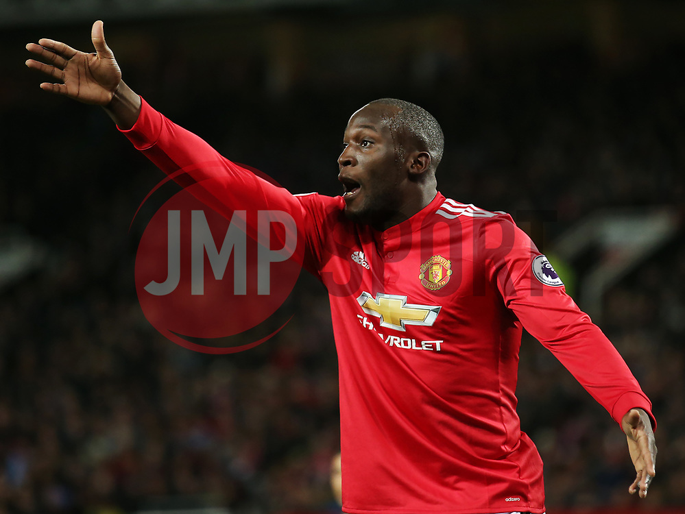 Romelu Lukaku of Manchester United appeals - Mandatory by-line: Matt McNulty/JMP - 18/11/2017 - FOOTBALL - Old Trafford - Manchester, England - Manchester United v Newcastle United - Premier League