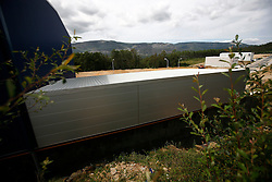 SPAIN GALICIA BOIRO 24AUG11 - Newly-built Biomega factory supposedly designed to produce Omega-3 tablets and subsidised with over 6 million Euros by the EU. The official opening of the factor was announced for April 2011, however to date the factory has not opened.....jre/Photo by Jiri Rezac....© Jiri Rezac 2011