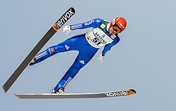 24.02.2017, Lahti, FIN, FIS Weltmeisterschaften Ski Nordisch, Lahti 2017, Nordische Kombination, Skisprung, im Bild Bjoern Kircheisen (GER) // Bjoern Kircheisen of Germany during Skijumping of Nordic Combined competition of FIS Nordic Ski World Championships 2017. Lahti, Finland on 2017/02/24. EXPA Pictures © 2017, PhotoCredit: EXPA/ JFK