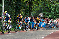 Leaders with Jos van Emden (NED) of Team Jumbo-Visma (NED,WT,Bianchi) and Koen Bouwman (NED) of Team Jumbo-Visma (NED,WT,Bianchi) during 2019 Dutch National Road Race Championships Men Elite, Ede, The Netherlands, 30 June 2019, Photo by Pim Nijland / PelotonPhotos.com | All photos usage must carry mandatory copyright credit (Peloton Photos | Pim Nijland)