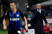 Luciano Spalletti of Internazionale reacts during the Serie A 2018/2019 football match between Fc Internazionale and AC Milan at Giuseppe Meazza stadium Allianz Stadium, Milano, October, 21, 2018 <br />  Foto Andrea Staccioli / Insidefoto