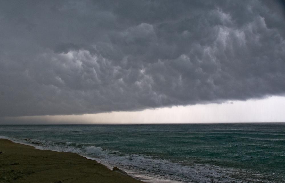Dominican Coast Storm