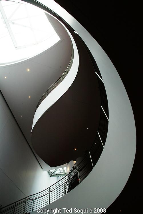Walt Disney Concert Hall interiors downtown L.A
