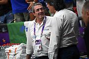 Sandro Senzameno<br /> Nazionale Italiana Maschile Senior<br /> Eurobasket 2017 - Group Phase<br /> Italia Germania Italy Germany<br /> FIP 2017<br /> Tel Aviv, 05/09/2017<br /> Foto M.Ceretti / Ciamillo - Castoria