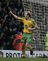 Fotball<br /> England 2004/2005<br /> Foto: SBI/Digitalsport<br /> NORWAY ONLY<br /> <br /> Gary Doherty cebrates after he scores.<br /> <br /> Norwich City v West Bromwich Albion, Barclays Premiership. <br /> <br /> 05/02/2005
