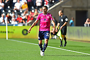 Angel Rangel (22) of Queens Park Rangers during the EFL Sky Bet Championship match between Swansea City and Queens Park Rangers at the Liberty Stadium, Swansea, Wales on 29 September 2018.