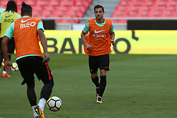 October 8, 2017 - Lisbon, Lisbon, Portugal - Portugals defender Cedric Soares in action during National Team Training session before the match between Portugal and Switzerland at Luz Stadium in Lisbon on October 8, 2017. (Credit Image: © Dpi/NurPhoto via ZUMA Press)